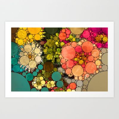 Perky Flowers! Art Print by Love2Snap - $19.99
