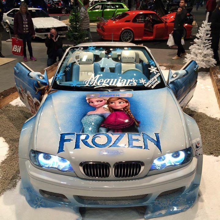 Disney-Frozen autó