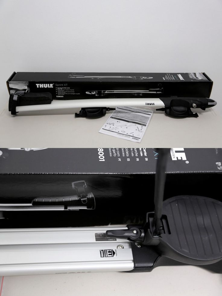 Car and Truck Racks 177849: Thule Sprint Xt Fork Mount Bike Carrier Rack 528 Brand New BUY IT NOW ONLY: $179.0