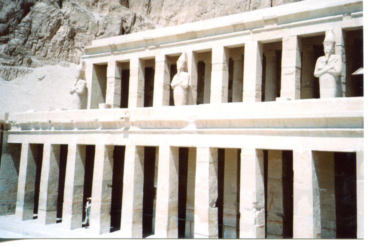 The temple of Hatshepsut, near Luxor, Egypt
