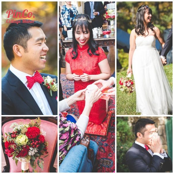 Fun Chinese And Western Wedding In Maryland