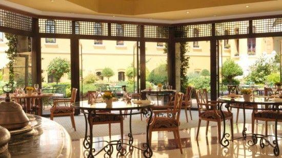 The very nice breakfast room. (My hOtel: Four Seasons Istanbul at Sultanahmet, Turkey)