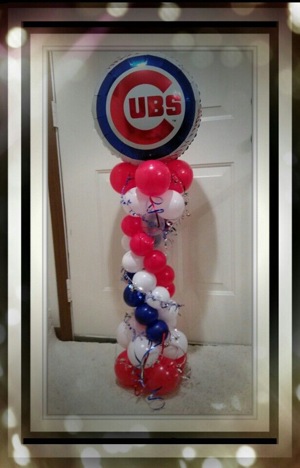 82 best images about balloon decor on pinterest for Balloon decoration chicago