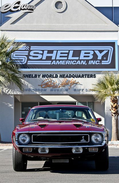 Carroll Shelby's 1969 Ford Mustang fastback GT 500 428 Cobra Jet