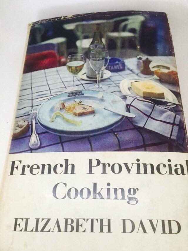 French Provincial Cooking. Elizabeth David 1967 by MrsJoyful on Etsy https://www.etsy.com/listing/243905321/french-provincial-cooking-elizabeth