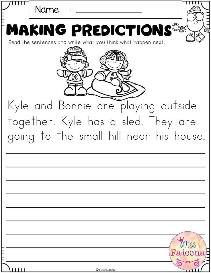 January Making Predictions Kindergarten Addition Worksheets Kindergarten Worksheets Making Predictions Predictions worksheets 3rd grade