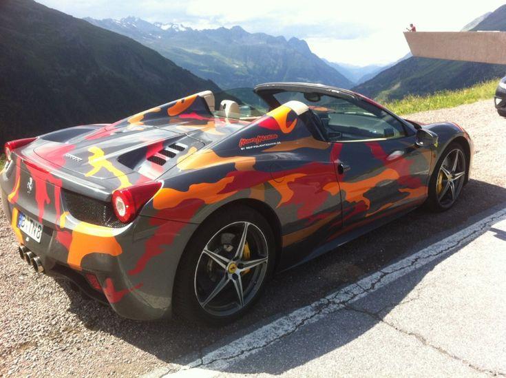 Toms Camo Ferrari
