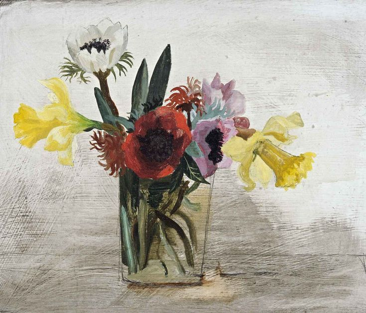 Flowers (1930) by Christopher Wood