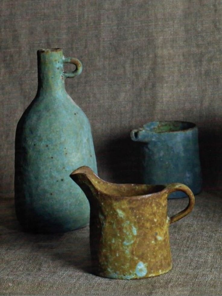 Pitcher and jug