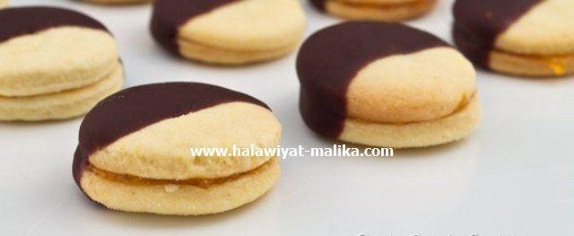 صابلي بالمربى والشوكولاته روعة الوصفة في الرابط: http://www.halawiyat-malika.com/2017/06/blog-post_40.html