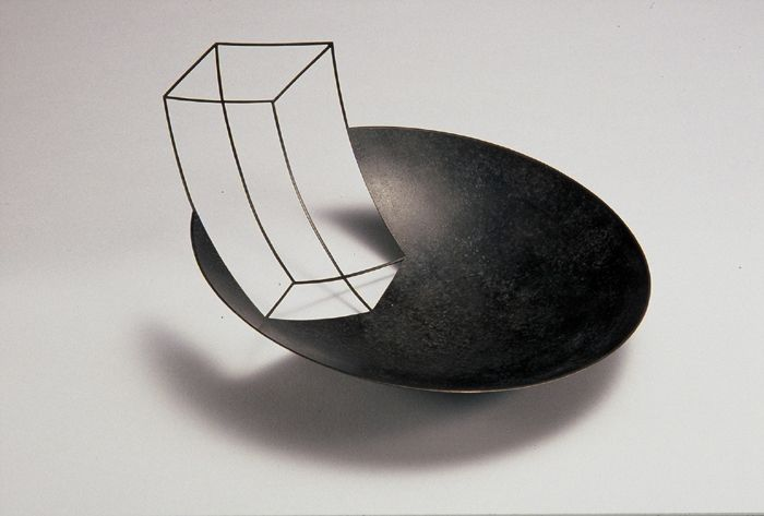 Negative Bowl. patinated copper. Ane Christensen