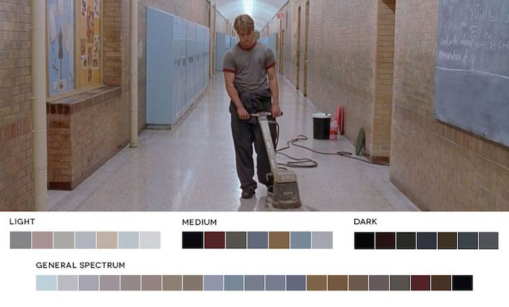Good Will Hunting – Color Palette