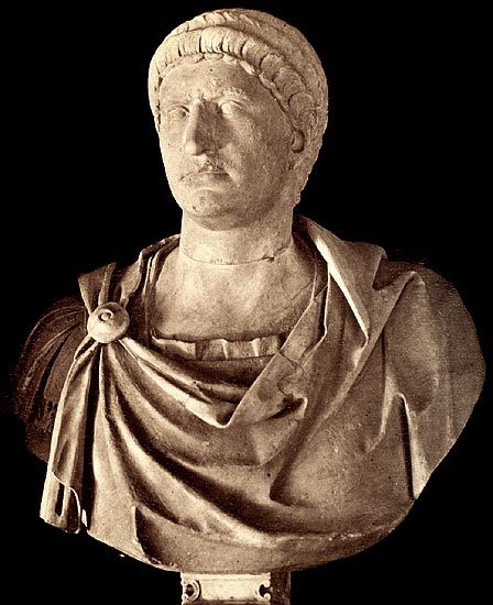 Otho (Latin: Marcus Salvius Otho Caesar Augustus, 28 April 32 – 16 April 69), was Roman Emperor for three months, from 15 January to 16 April 69. He was the second emperor of the Year of the Four Emperors.