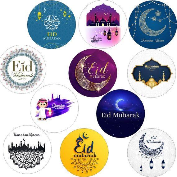 Eid Stickers Eid Mubarak Ramadan Kareem Islam Muslim Etsy In 2021 Eid Stickers Eid Mubarak Stickers Eid Mubarak
