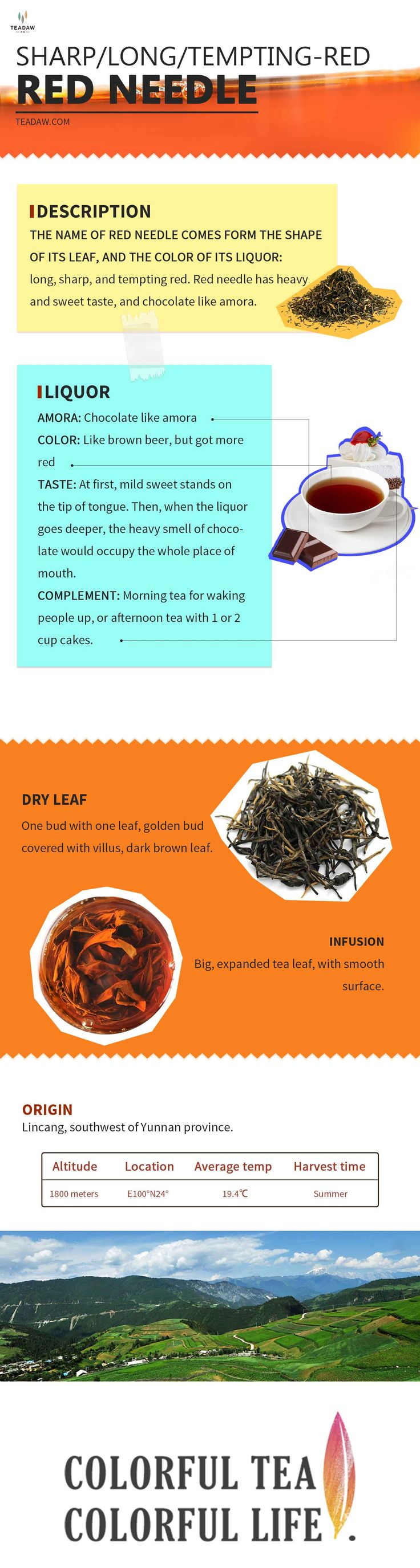 See our black tea, RED NEEDLE! #Tea #Blacktea