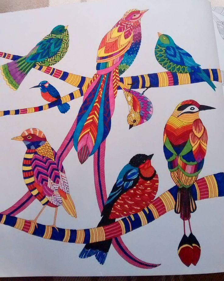 Making good use of a new Christmas gift  #colouring #adultcolouringbook…
