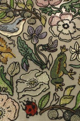 Moko Kobayashi - tambour embroidery