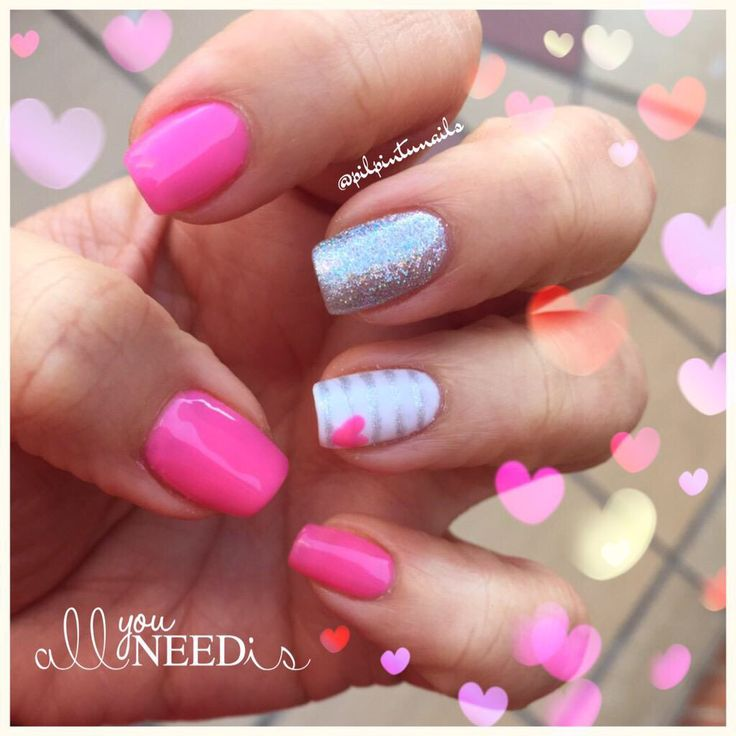All you need is LOVE #nails #nailart #lacquerpro