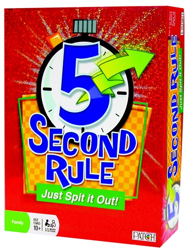 5 Second Rule Just Spit it Out! Game