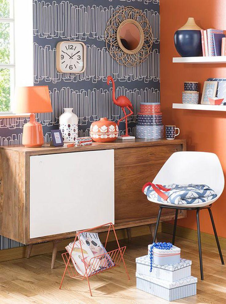 Les 25 meilleures id es de la cat gorie chambres orange et bleu sur pinterest chambre b b for Chambre orange pastel