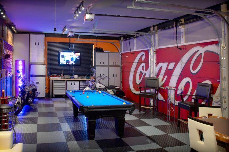 Game Room Garage Flooring Tiles Garage Game Rooms Garage Room
