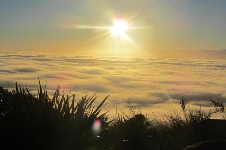 Stunning sunrise view from Ou Kaapse weg