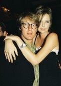 James Spader with Charliez Theron