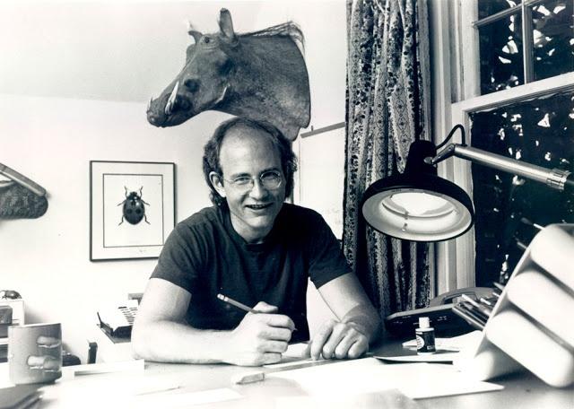 "Gary Larson, creator of ""The Far Side"" syndicated comic strip"