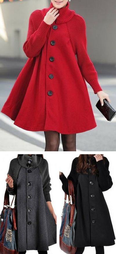 coat, rosewe coat, coat for women, red coat, winter coat, swing coat, coat dress, coats, casual coat.