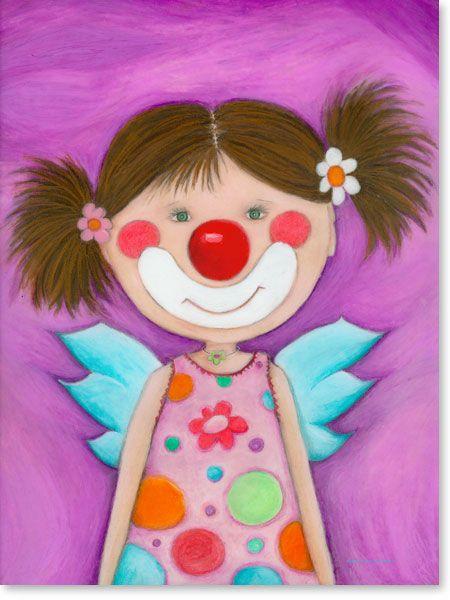 Fancy Pastellbild Schutzengel Rosa Lila Wandbilder f rs Kinderzimmer