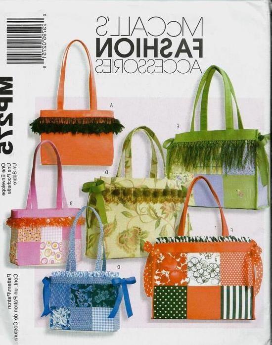 mccall\'s mp275 (4610) vermisst Behälter Nähmuster   Handtaschen ...