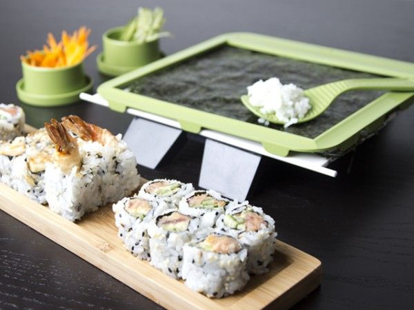 SushiQuik for Making Sushi Rolls for the culinary guy in your life.
