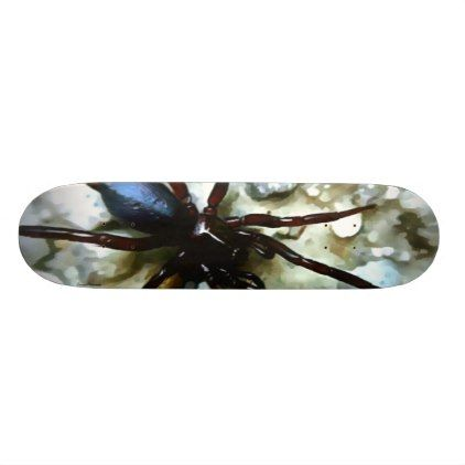Spider Skateboard - photography gifts diy custom unique special