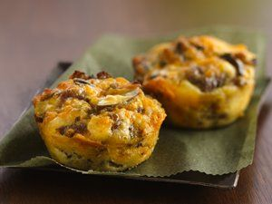 Impossibly Easy Mini Breakfast Sausage Pies + many other easy savory pies