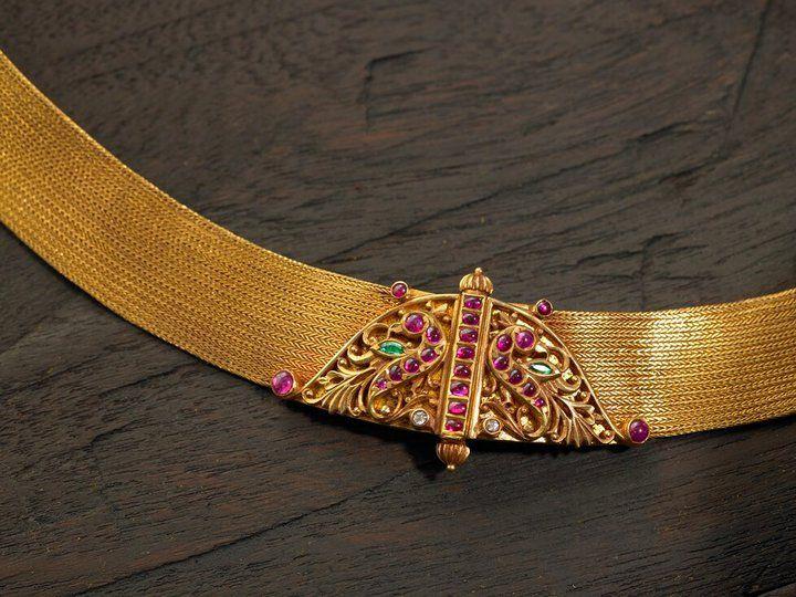 arnav jewellery | Extraordinary Ruby Temple Jewellery from ARNAV - MinMit | MinMit