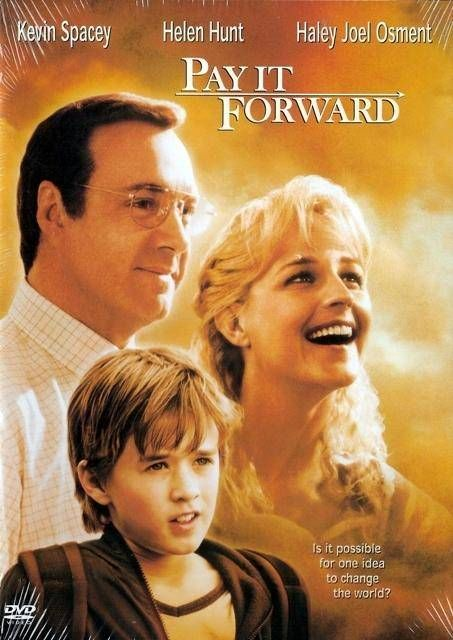 Pay it Forward - Kevin Spacey, Helen Hunt, Haley Joel Osment