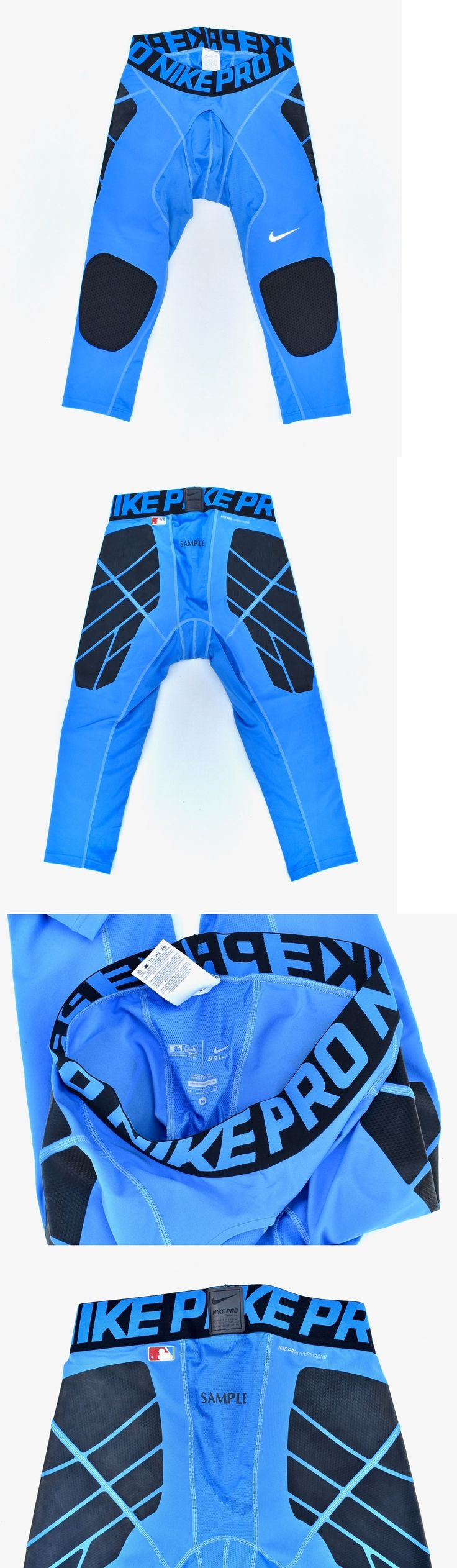Protective Gear 21224: Nike Pro Combat Hyperstrong Baseball Compression Slider 3 4 Tights New -> BUY IT NOW ONLY: $45 on eBay!