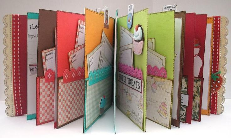 Free Craft Projects: Recipe Book
