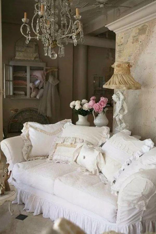 50 Cool Shabby Chic Living Room Decor Ideas – Patresa Konderla