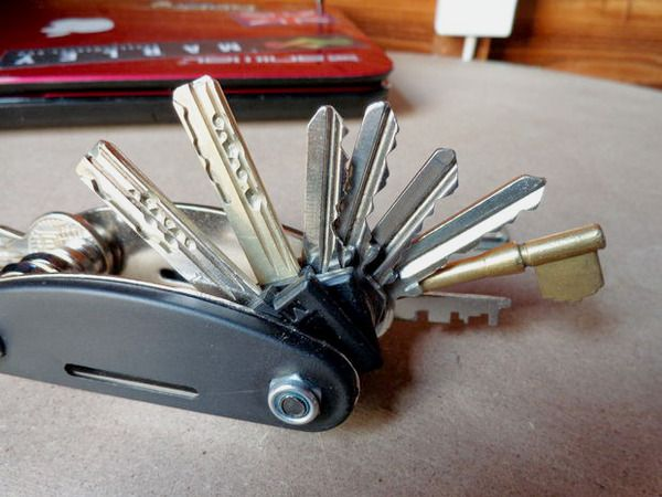 How To Make Your Own Swiss Army Style Flip Out Key Ring
