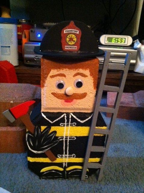 Firefighter Pat