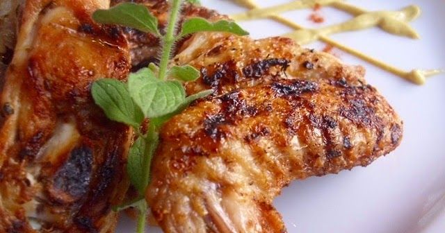 Παϊδάκια κοτόπουλου μαριναρισμένα
