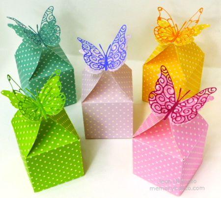 Jean Okimoto-Butterfly Favor Box-Memory Box