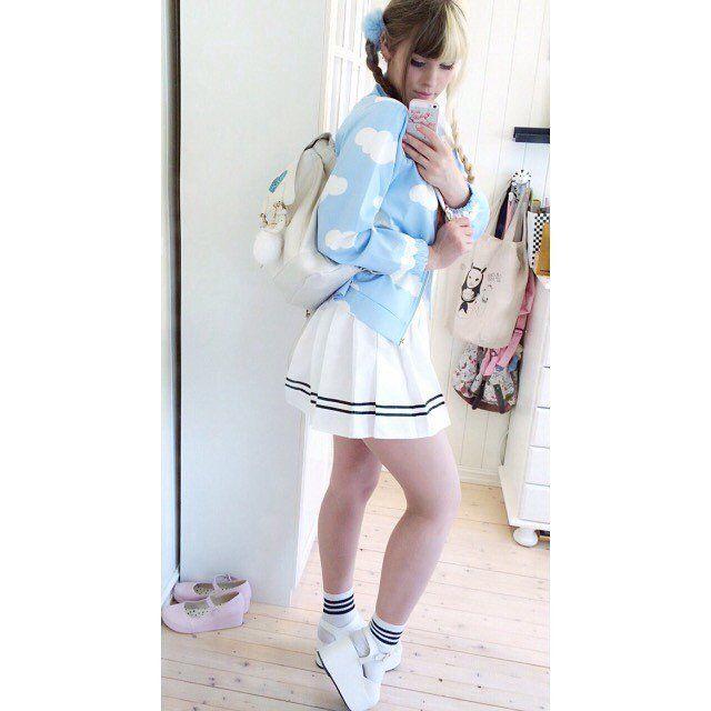 "Cute kawaii cloud jacket review SE125      Coupon code ""cutekawaii' for 10% off"