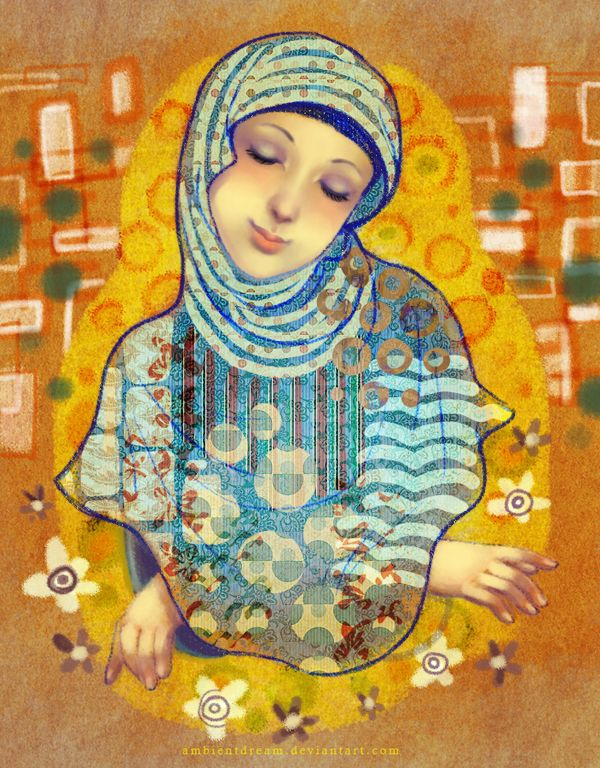 http://ambientdream.deviantart.com/art/Klimthijabi-358419516