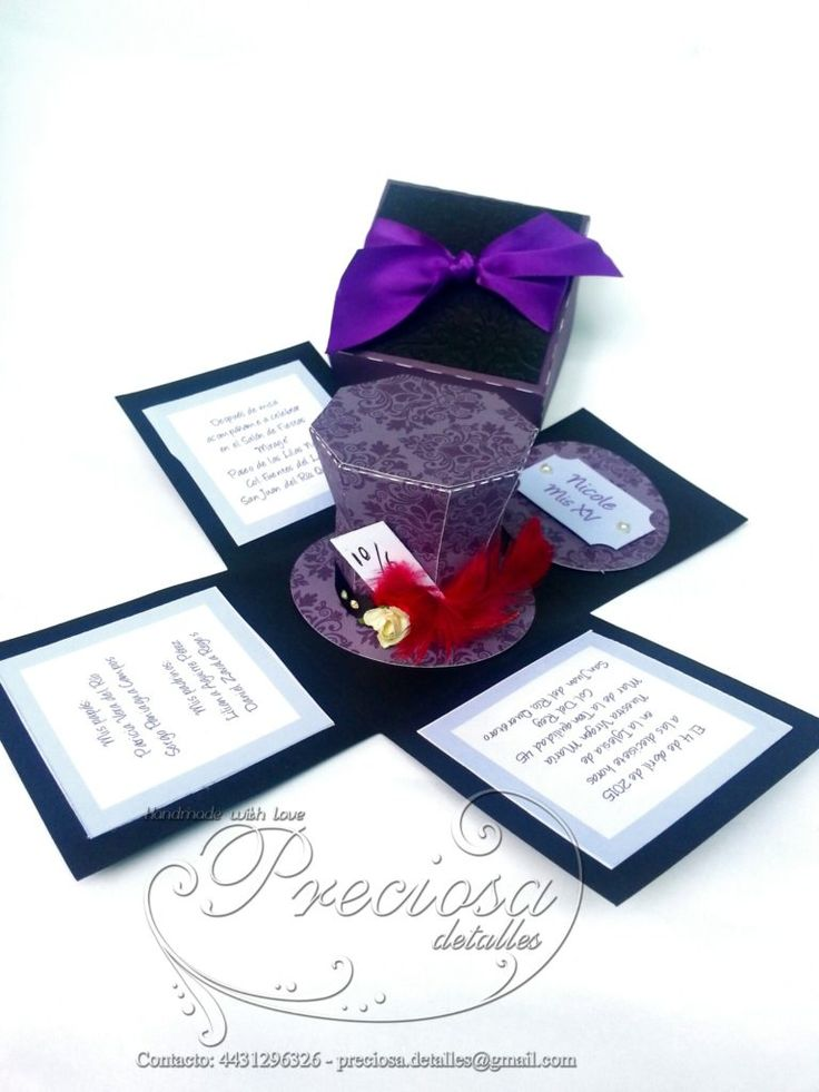 invitacion_sobrerero_alicia_pais_de_las_maravillas_wonderlan_ caja_explosiva_ invitation_mad_hat_hatter