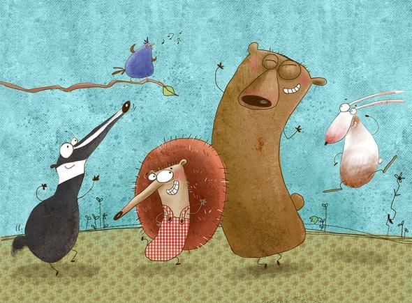 Susan Batori - professional children's illustrator, view portfolio