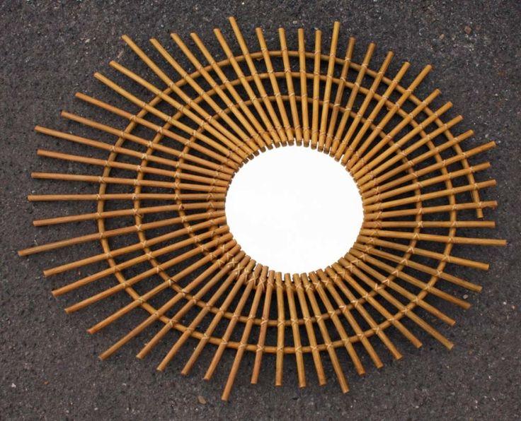 1000 id es sur le th me placage bois sur pinterest for Mini miroir rotin