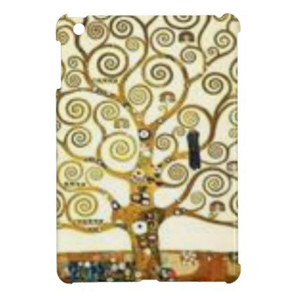 #Gustav Klimt - the Tree of Life painting Case For The iPad Mini - #deco #gifts