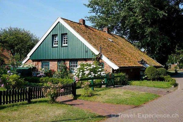 Ostfriesland, Spiekeroog, Altes Inselhaus, Schwimmdach
